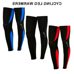 mens cycling leg warmers winter running thermal