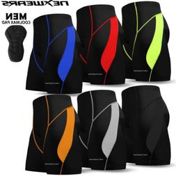 Mens Cycling Shorts Bicycle Road Bike Coolmax Pad MTB Mounta