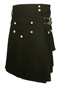 Men's Fashion Snap-on Kilt, Deluxe Utility Kilt, Tradition