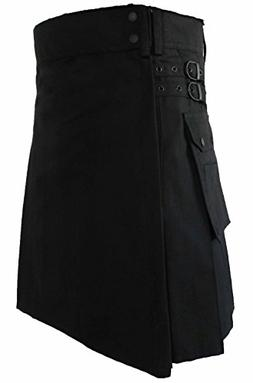 mens fashion snap on kilt standard utility