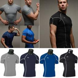 Mens Gym Sports Under Base Layer Compression Athletic Short