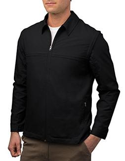 mens jacket 25 pockets travel clothing blk