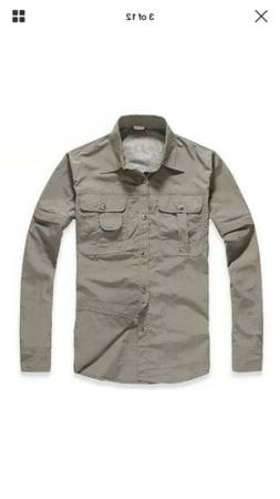 Tacvasen Mens Military Clothing Lightweight Army Shirt Quick