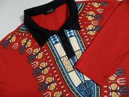 Coofandy Mens Polo Style  Long Sleeve Casual Henley Shirt SM