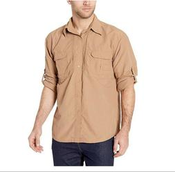 Mens Quick Dry Anti-UV Work Shirt Military Long Sleeve Worko