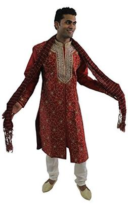 e89d2e29e8 Apparelsonline Mens Sherwani Set Indian Wedding Party Wear