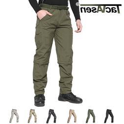 TACVASEN Mens Tactical Quick Drying Anti-Rip Pants Hiking Tr