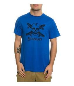 Fourstar Clothing Mens The Dressen Pirate Graphic T-Shirt ro