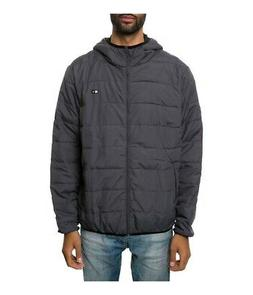 Fourstar Clothing Mens The Innsbruck Puffer Jacket charcoal