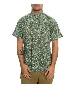 Fourstar Clothing Mens The Ishod Ss Button Up Shirt