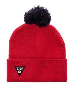 Fourstar Clothing Mens The Koston Pom Pom Beanie Hat washedr