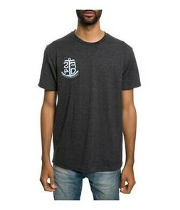 Fourstar Clothing Mens The Port 50 50 Graphic T-Shirt, grey,