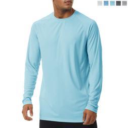 Mens UPF50+ Long Sleeve T-Shirt UV/Sun/Skin Protection Outdo