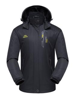 Mens Waterproof Windproof Coat Autumn Snow Winter Jacket Out