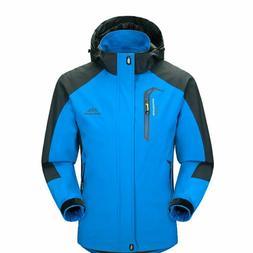 mens waterproof windproof warm coat snow winter
