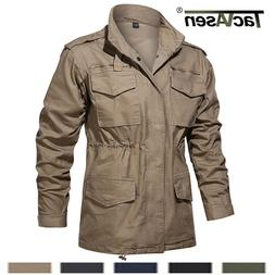 Military 65 Field Jacket Men's Army Coat Tactical Windbreake