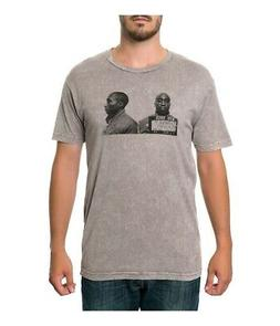 Fourstar Clothing Mens The Mugshots Mineral Graphic T-Shirt