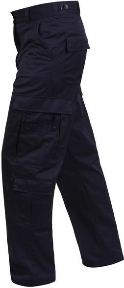 Navy Blue Mens 9 Pocket Tactical Police EMS Apparel EMT MEDI
