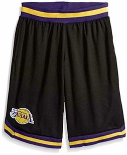 UNK NBA Men's Mesh Basketball Shorts Woven Active Basic, Bla
