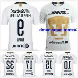 NEW 2018-19 Pumas UNAM Home Soccer Jersey Man Tshirt footbal
