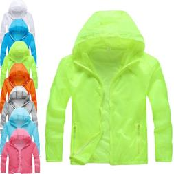 NEW Anti-UV thin <font><b>Coats</b></font> Outdoor Sports co
