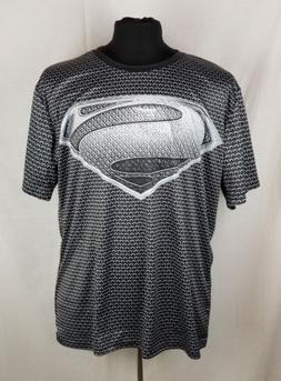 New Brand Clothing Fitness Compression Shirt Men Superman 4X