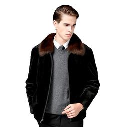 New Imitation Fur <font><b>Men's</b></font> <font><b>Clothin