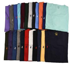 Men Polo Ralph Lauren CREW NECK T Shirt Size S M L XL XXL -