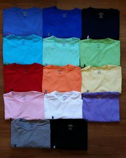 new men crew neck t shirt size