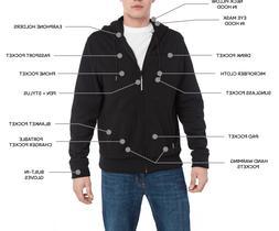 New BAUBAX Men's Black Sweatshirt - Choice of Size