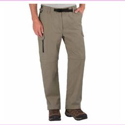NEW BC Clothing Men's Convertible Stretch Cargo Pants/Shorts