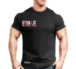 New Men's Monsta Clothing Fitness Gym T-shirt - CSS - This m