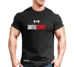 New Men's Monsta Clothing Fitness Gym T-shirt - Powerlifting