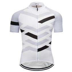 New Men's Short Sleeve Cycling Jersey Summer MTB Road Riding