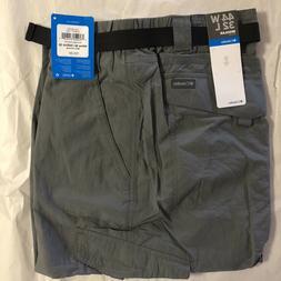 NEW Columbia Men's Silver Ridge Cargo Pant, City Grey, 44Wx3