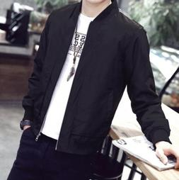 New Men's Slim collar fashion jackets Tops Casual coat outer