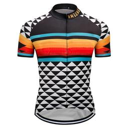 New Mens Bike Team Road Jerseys Cycling Shirt Short Sleeve T