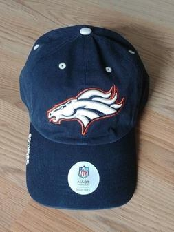 NEW Mens NFL TEAM APPAREL DENVER BRONCOS Navy Baseball Hat C