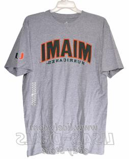 New Mens Knights Apparel University of Miami Hurricanes T-Sh