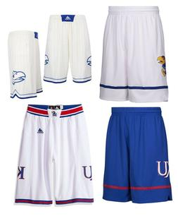 NEW Adidas Men's NCAA Kansas Jayhawks On Court Premier Bas