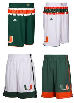 NEW Adidas Men's NCAA Miami Hurricanes On Court Premier Ba
