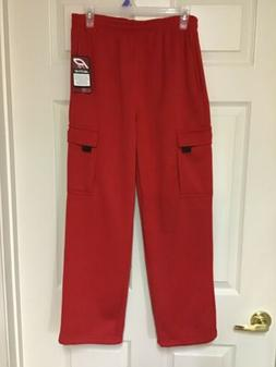 """New Men's or Boys 30""""x28"""" Pro Active Red Sweat Pants Size"""