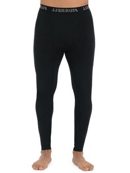 NEW Mens Russell L2 Black Base Layer Active Thermal Underwea