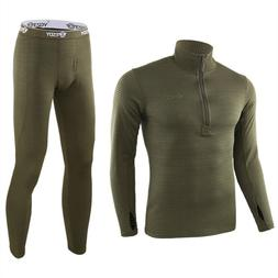 New Thermal Underwear Sets For <font><b>Men</b></font> Winte
