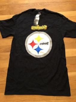 Nfl Men's Nwt Team Apparel Pittsburgh Steelers Football Blac