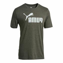 PUMA No. 1 Logo Graphic T-Shirt Men Tee Basics