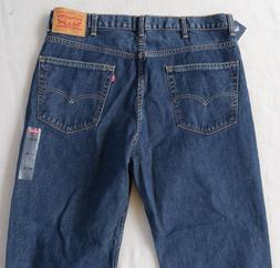 NWT Levi's Men's Stretch 514 Slim Straight Dark Jeans - Tag