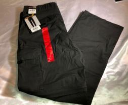 Nwt BC Clothing Men's Convertible Zip Off Cargo Pants Shorts