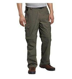 NWT BC Clothing Men's Cotton Lined Adjustable Belted Cargo P