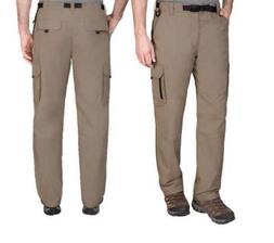 NWT Men's BC Clothing Hiking Cargo Stretch Pants  Lined, San